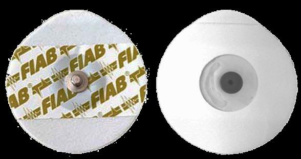 FIAB F9060 Gel-Elektroden oval 50mm x 48mm