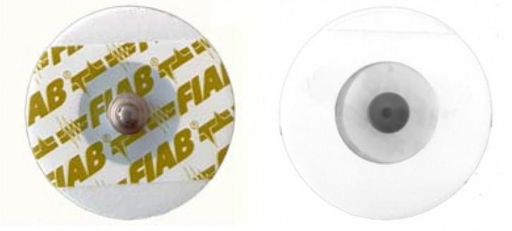 FIAB F9060P Gel-Elektroden oval ø 40mm - für Kinder (pädiatrisch)
