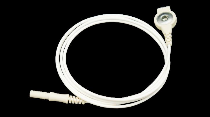 Elektrodenkabel mit Druckknopf
