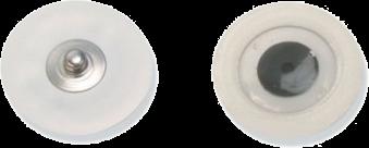 FIAB Hartgelelektroden PG10C mit Druckknopf